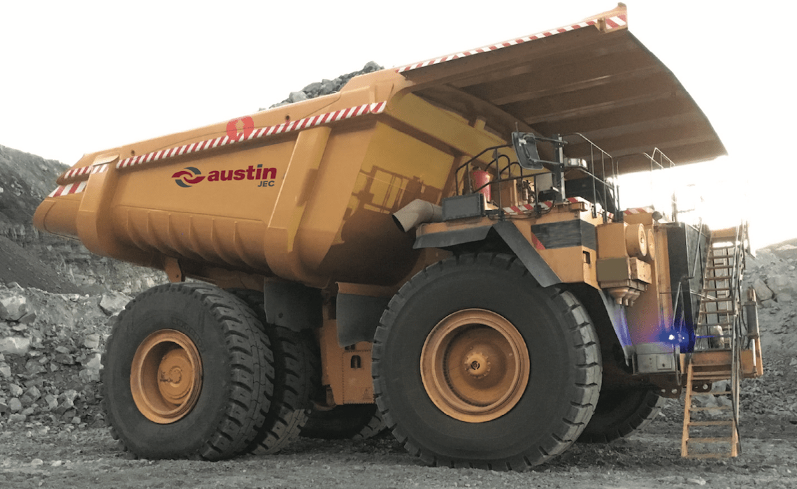 Austin JEC - DUMP Truck Bodies Case Study